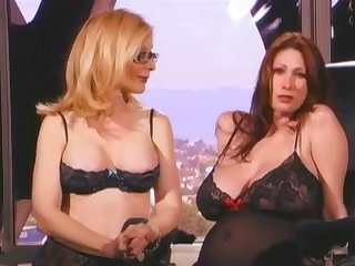 lesbian strapon Nina Hartley Dick Sex With A Hottie