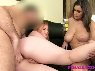 hd anal FemaleAgent: Curvaceous redhead in first time anal
