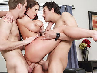 brunette anal Angelas Sex Auction - BrazzersNetwork