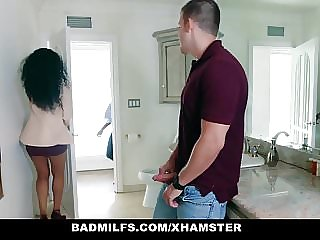 milf teen BadMilfs - Ebony Milf Fucks Son In Law
