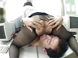 japanese stockings One of the hottest panty hose worship scenes EVER!
