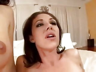 brunette anal Mom & Daughter Analized S88