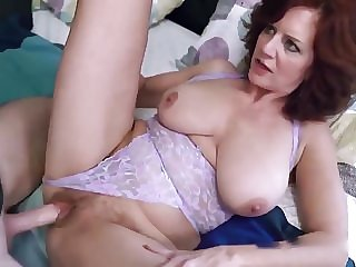 redhead mature Early Morning Creampie