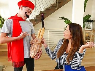 milf big tits Young boy fucked slutty girlfriend to your mother