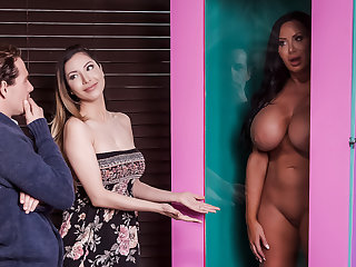 asian anal Sybil Stallone & Tyler Nixon in Free For All Fuck - BRAZZERS