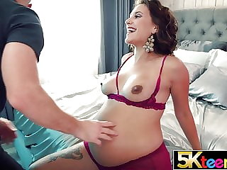 hardcore blowjob 5KTEENS Pregnant 18 Year Old Still Wants Cum