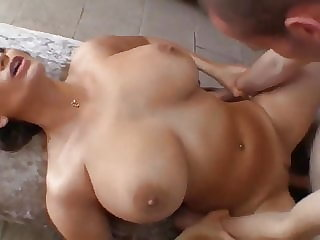 cumshot blowjob HOT MOM with HUGE TITS