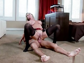 blonde big tits Unbelievable busty maried woman Brandi Love performing in a hot femdom porn video
