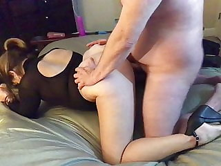 blowjob amateur Hotwife talks about fucking other cock in front of her cuck
