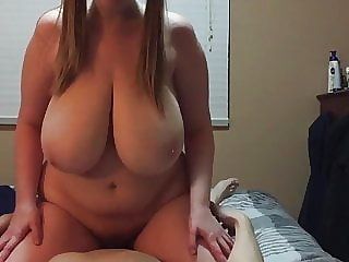 bbw amateur Riding Chubby