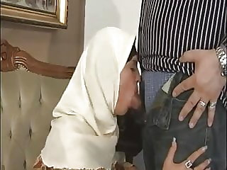 voyeur handjob ARAB Muslim HIJAB Turbanli Nice Tits DOGGY FUCK Blowjobs -NV