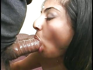 blowjob asian Beautiful Indian girl with a great ass sucks dick and gets drilled
