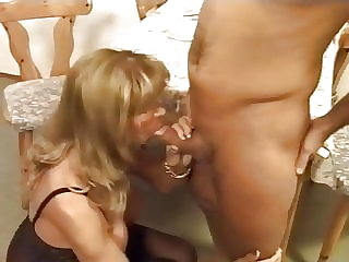 stockings mature German granny