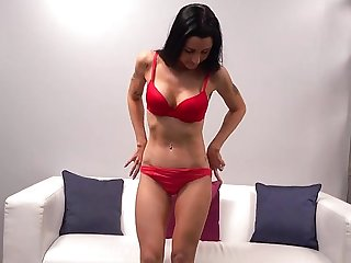 casting big tits Mature lady came to the casting and showed off his perfect body on cam...