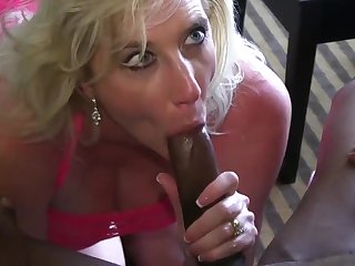 blonde big cock BBC Whore Wife
