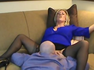 blonde babe Smoking hot stepmom son roleplay