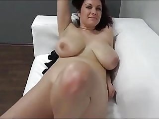 milf blowjob MILF with Big Tits on Casting after WORK