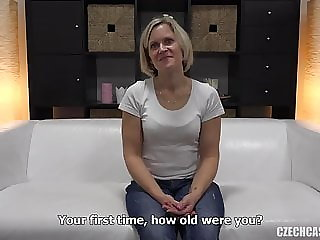 blowjob blonde mature marie casting
